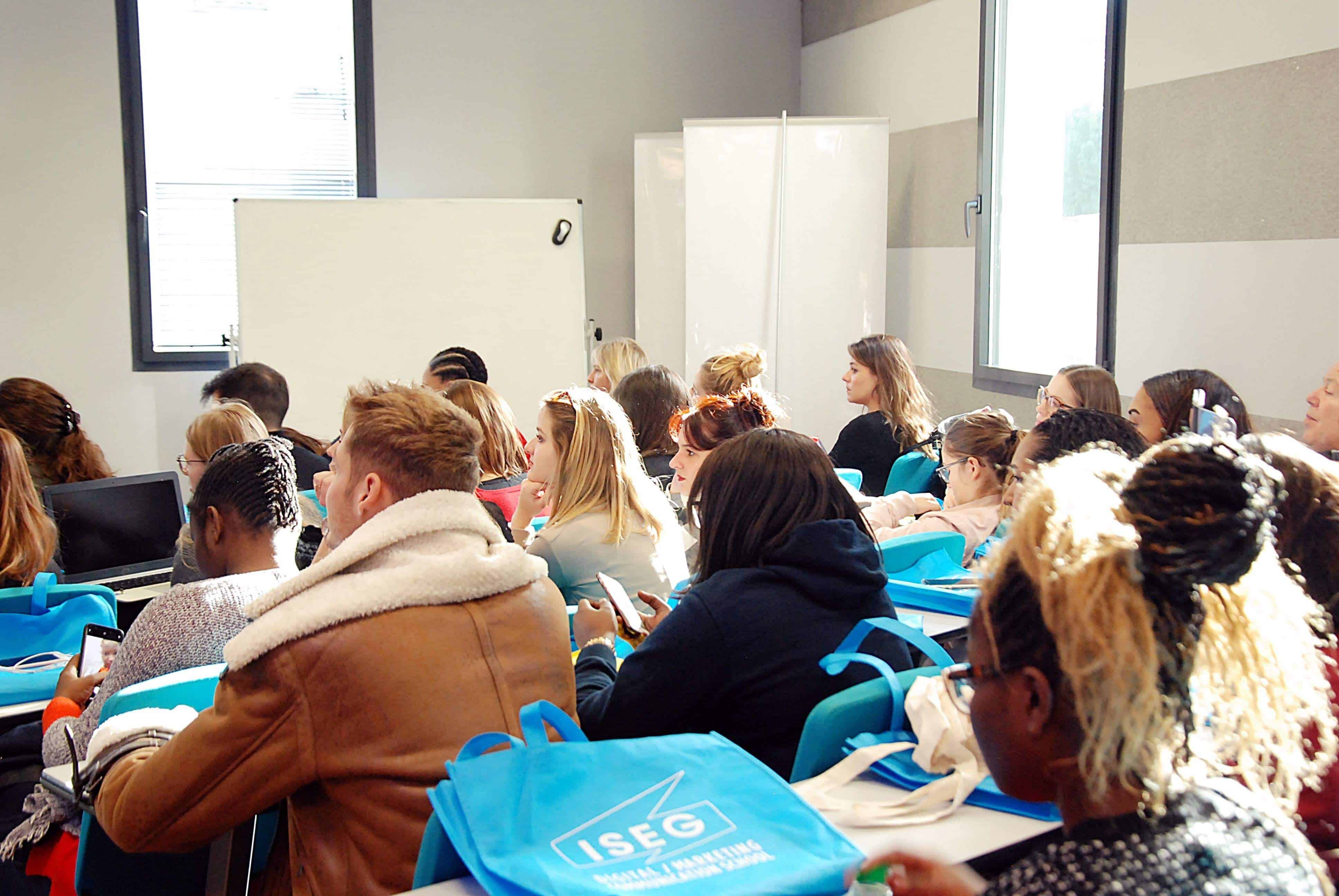 Journée d'immersion à l'ISEG Bordeaux