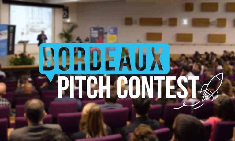 Nos étudiants Dorian et Nicolas remportent la 2e place du Bordeaux Pitch Contest 2018