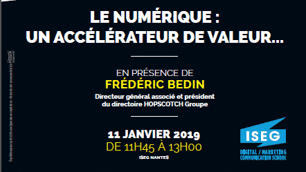 iseg_one_frederic_bedin_iseg_nantes_ecole_communication_marketing_digital_conference