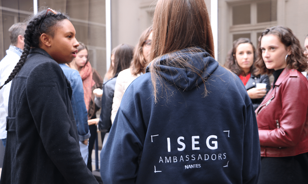 iseg_nantes_ecole_marketing_communication_rentree_dates_2019_ambassadeurs