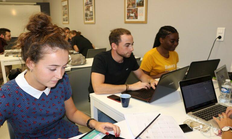 VIE ÉTUDIANTE : workshop de rentrée pour les étudiants de 3e année