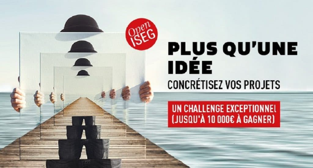 Open ISEG, le concours qui permet de concrétiser vos projets