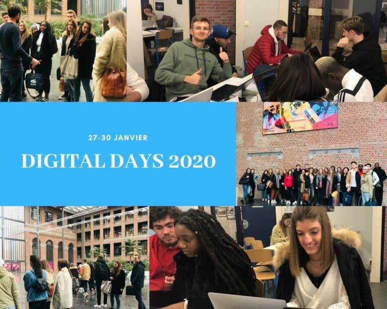 DIGITAL DAYS : retour sur l'édition 2020 à l'ISEG Lille