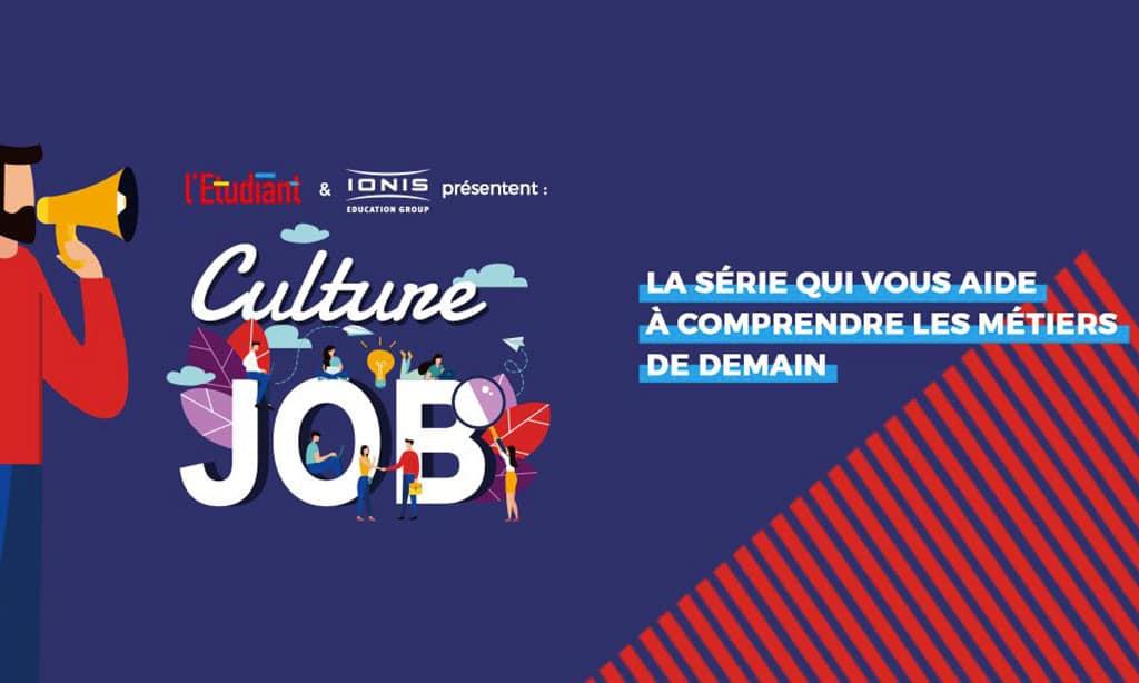 Culture Job : un podcast sur le marketing et la communication