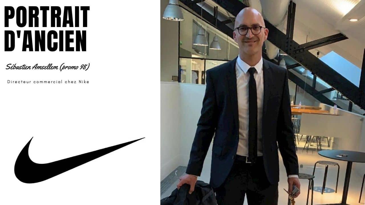 Sébastien Amsellem, directeur commercial chez Nike (promo 98)