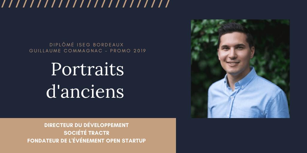 Rencontre avec Guillaume Commagnac, fondateur d'Open Startup