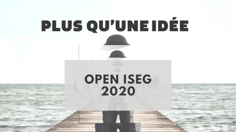 OPEN ISEG 2020 : Qui sera le grand gagnant de cette nouvelle édition ?