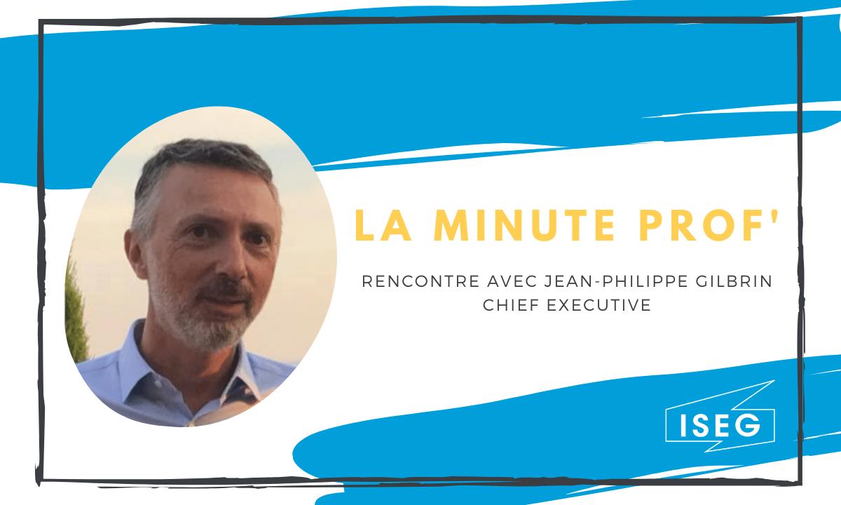 La minute prof' : Rencontre avec Jean-Philippe Gilbrin