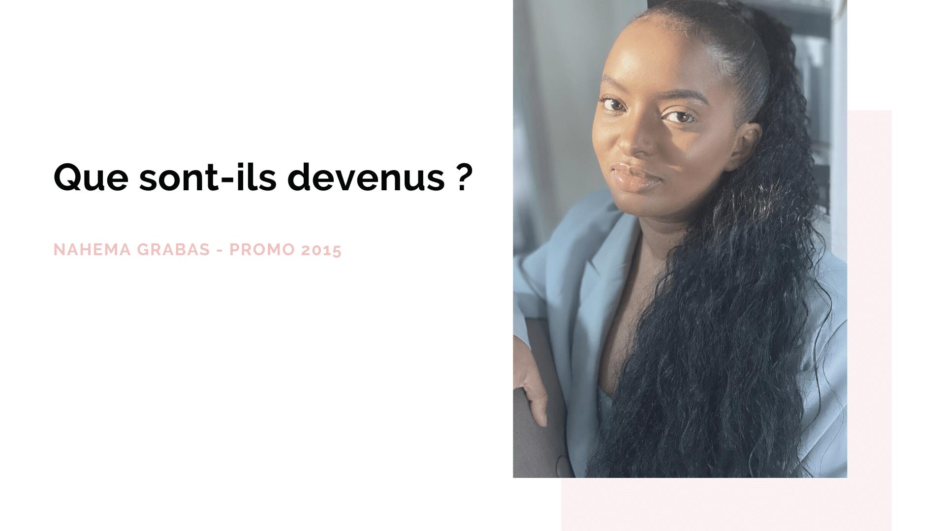 Portrait d'ancien : Nahema Garba, promo 2015 – ISEG Paris