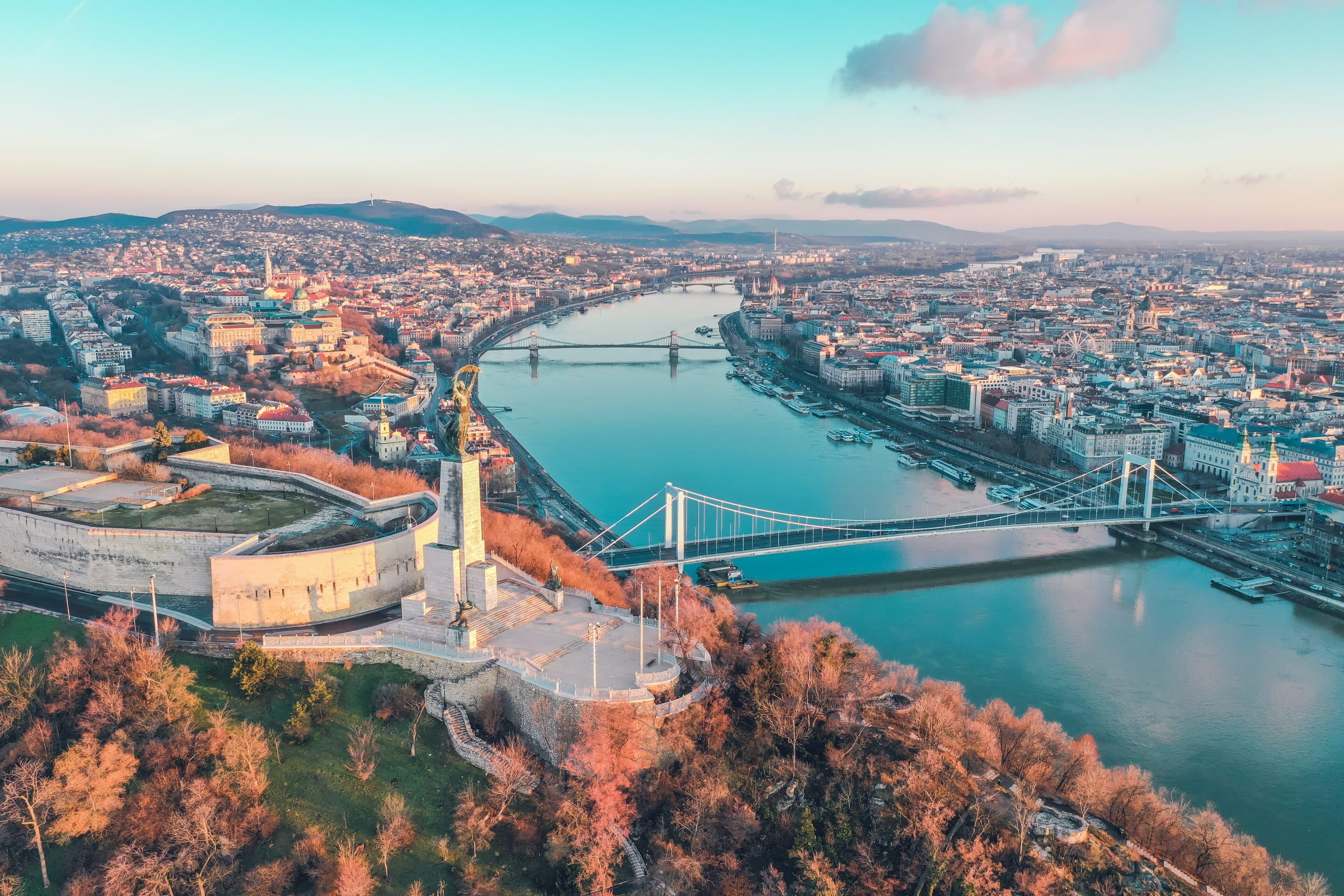 International : Marie-Auriane, étudiante en 3e année, partie à Budapest
