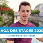 SAGA DES STAGES : rencontre avec Mathieu Bowé, en alternance chez Auchan