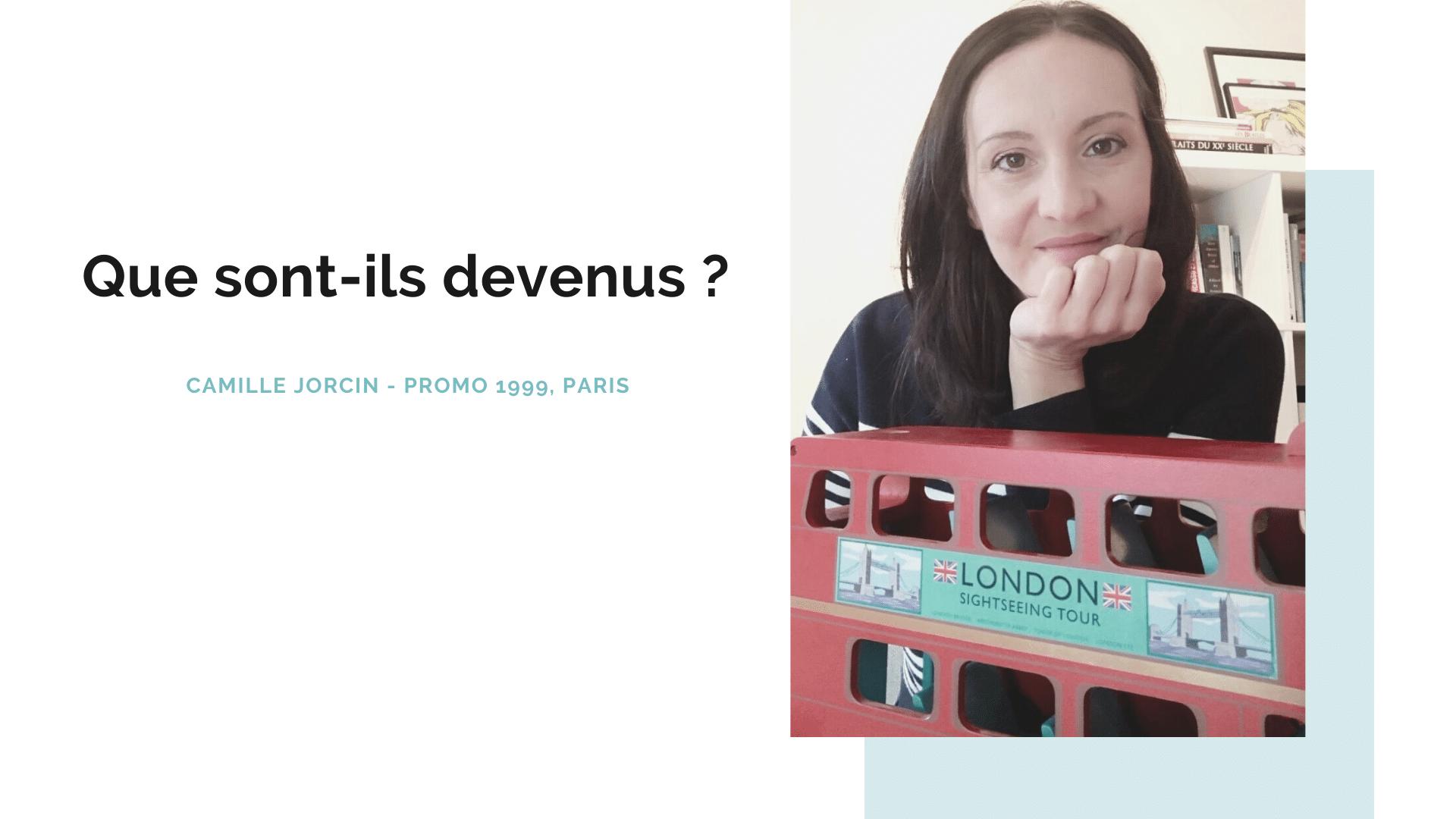Portrait d'ancien : Camille Jorcin, diplômée promo 99 – ISEG Paris
