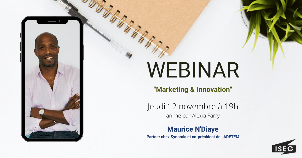 Maurice N'Diaye : « Marketing et Innovation »