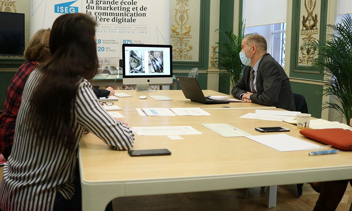 WORKSHOP : l'inspection du travail s'invite à l'ISEG Strasbourg