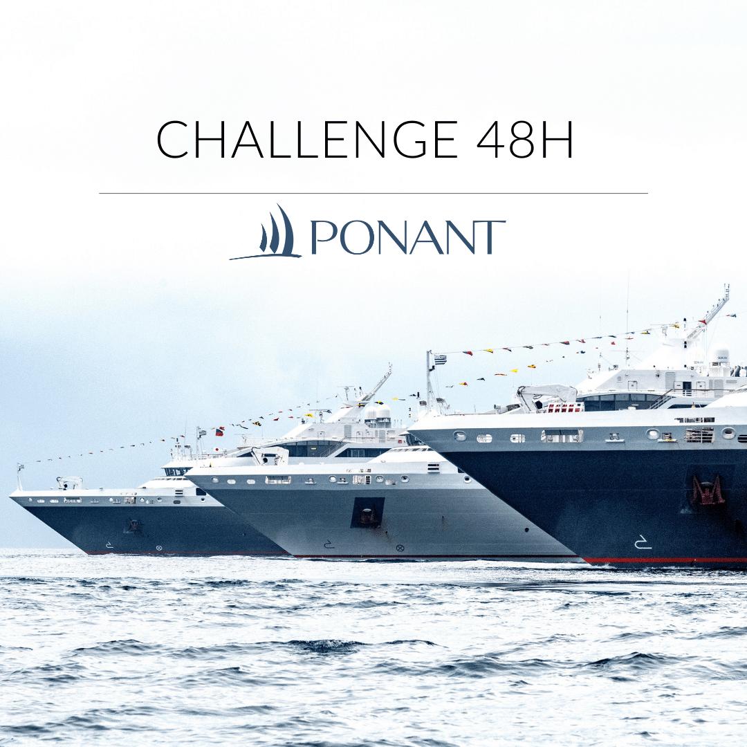 48h Chrono : un challenge avec les croisières de luxe PONANT, pour nos étudiants de 2e année