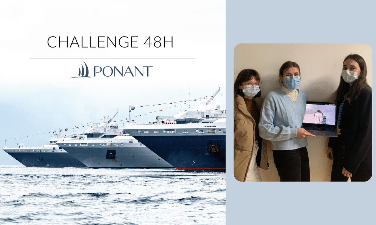 48H Challenge : PONANT embarque nos étudiants.