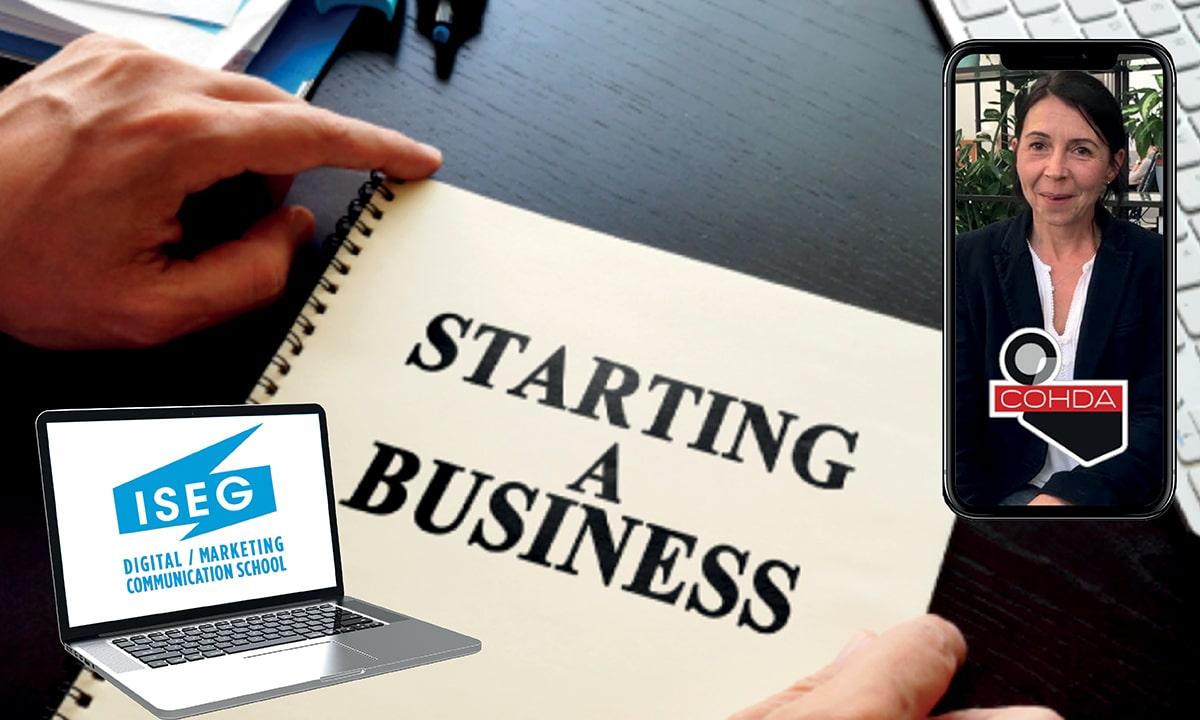 « Créer une entreprise à son image » les conseils de Séverine Goasguen, directrice de l'institut d'études COHDA
