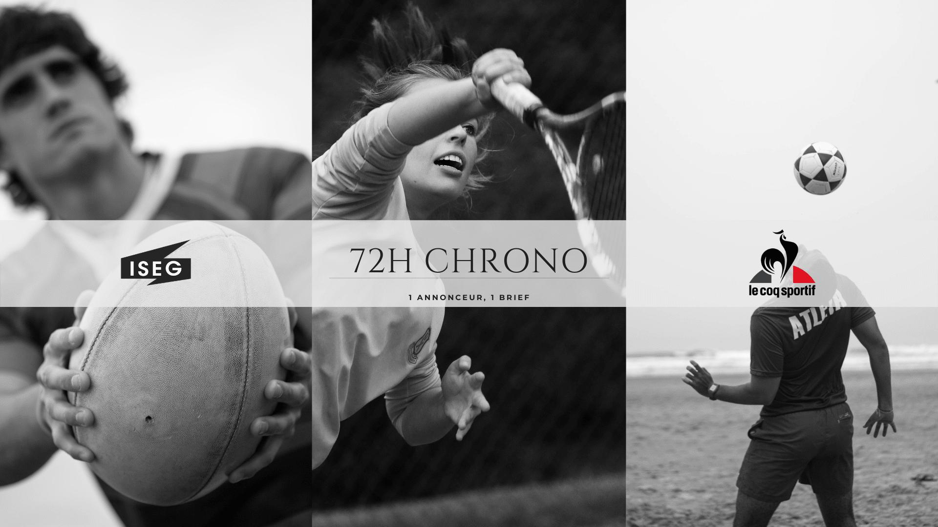 Le Coq Sportif : l'annonceur du Challenge 72H Chrono