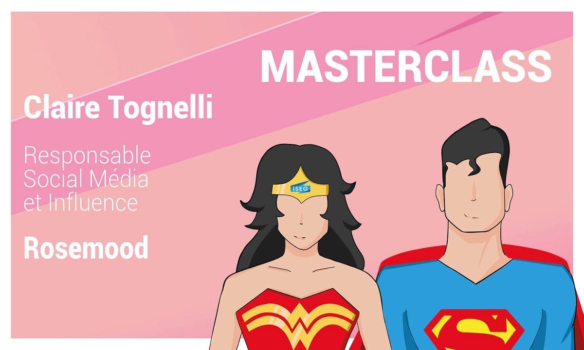 MASTERCLASS : Claire Tognelli Responsable Social Media chez Rosemood