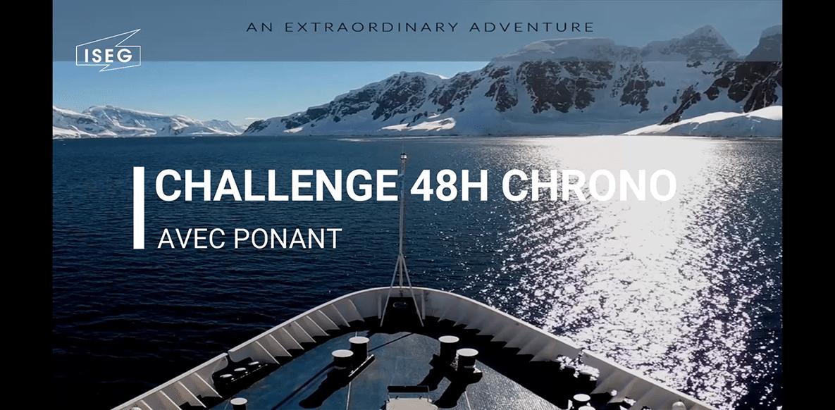 Challenge 48h Chrono avec Ponant : retour en vidéo avec nos finalistes !