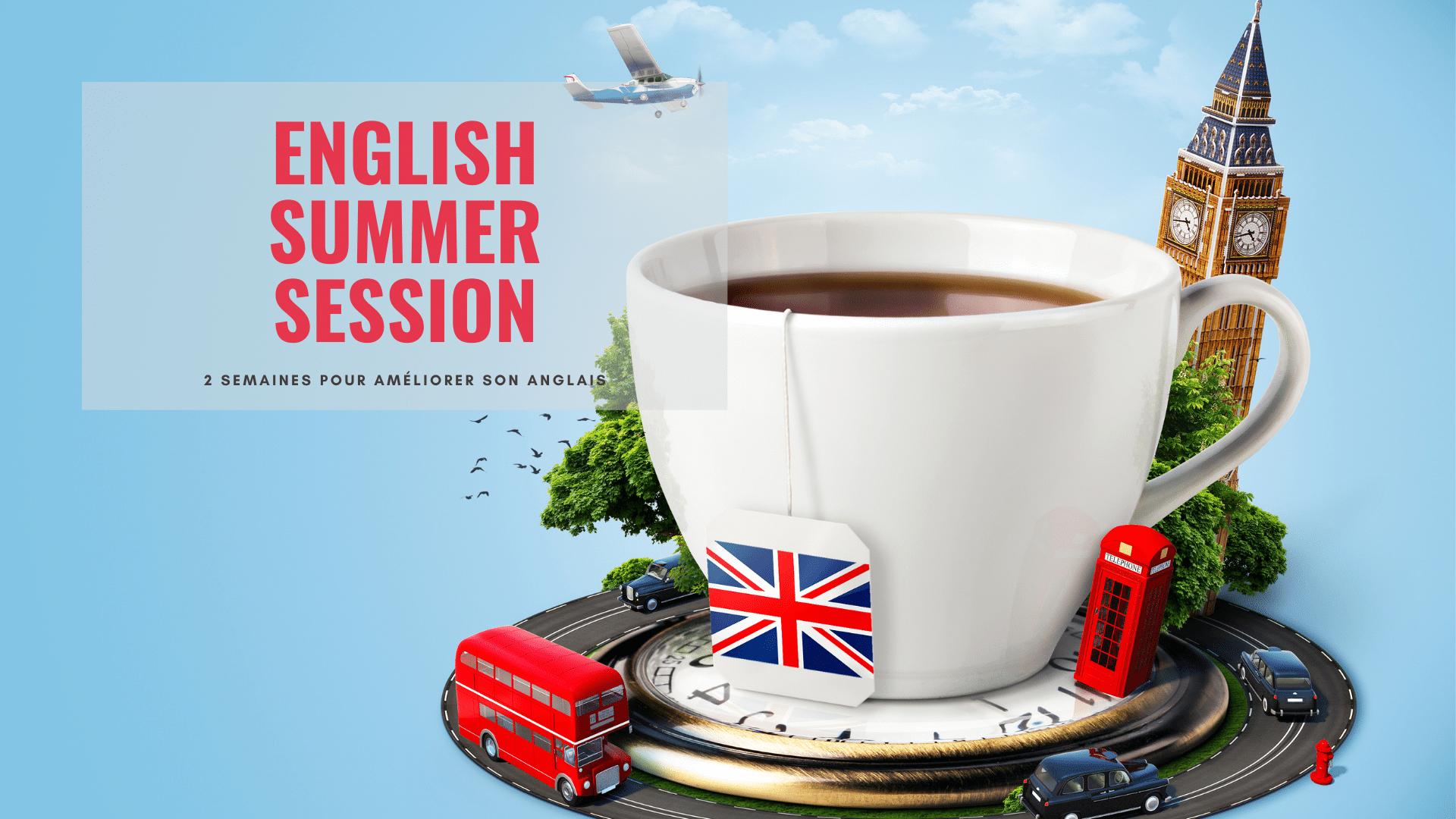 English Summer Session 2021: nouvelle édition 100% digitale !