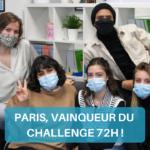 Challenge 72H : Le jury a tranché !