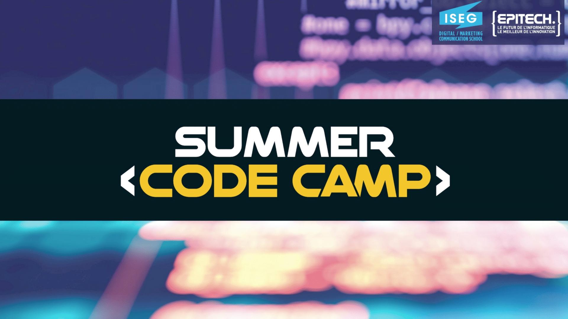 Summer Code Camp : initiation en mode remote avec Epitech