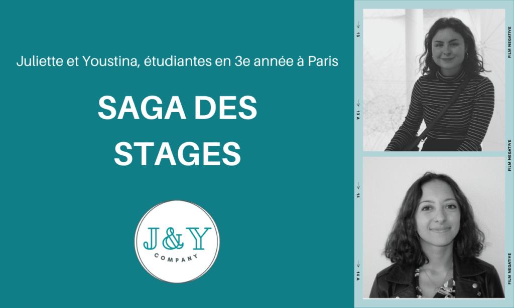 J&Y Company le stage de Juliette et Youstina