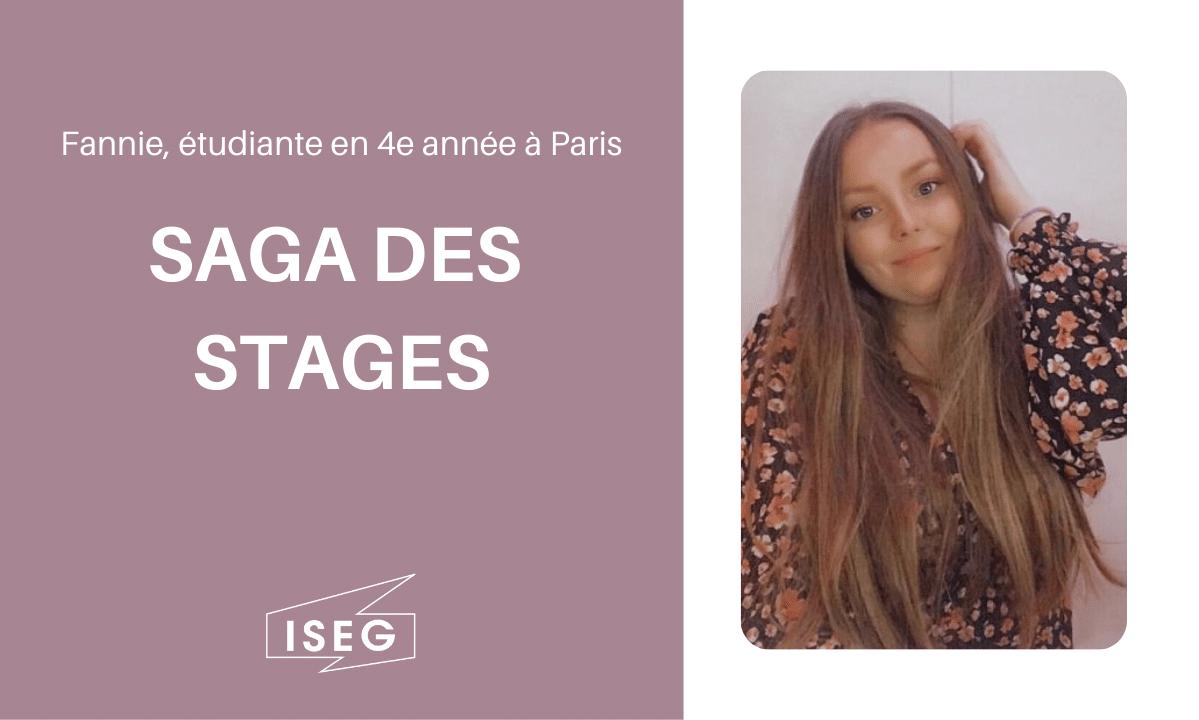 Parcours d'étudiant.e : Fannie, en 4e année à l'ISEG Paris