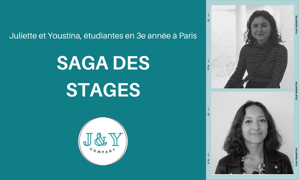 [ Saga des Stages ] Juliette et Youstina créent la «J&Y Company»