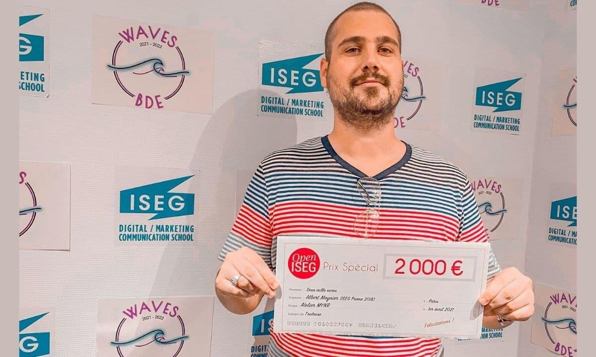 OPEN ISEG 2021 : Rencontre avec le gagnant toulousain, du Prix spécial du jury, l'atelier MYNR