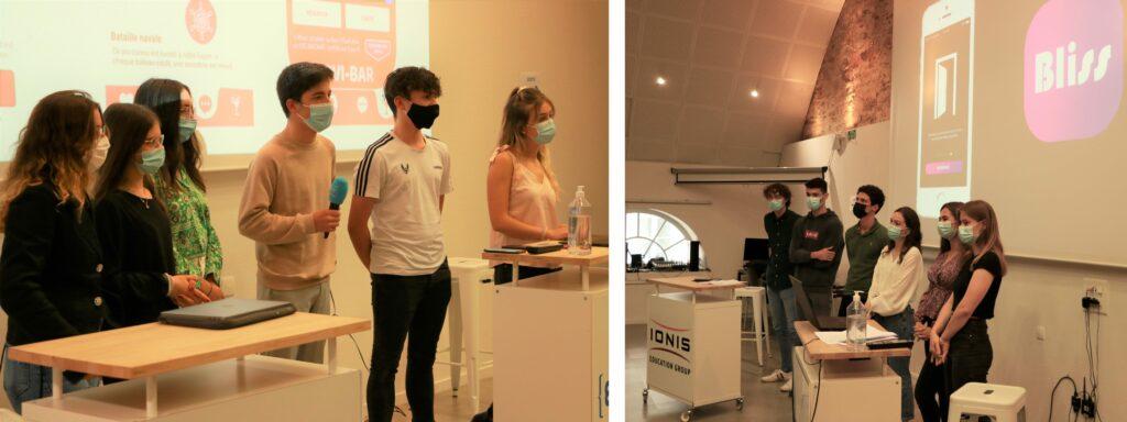 En juin, les étudiants de 1re année de l'ISEG Nantes ont participé à l'Immersive Week sur le thème des relations amoureuses en temps de covid