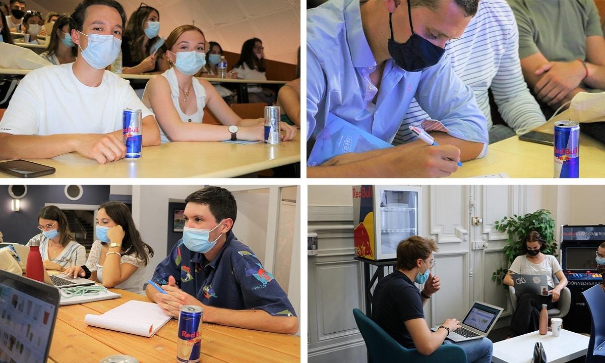 WORKSHOP : Les étudiants de l'ISEG Nantes travaillent pour RedBull Basement