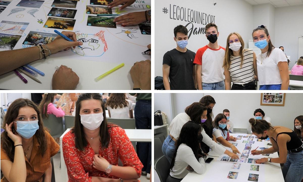 Rentrée : la Fresque du Climat et un workshop spécial FAGUO pour les 3e années de l'ISEG Nantes