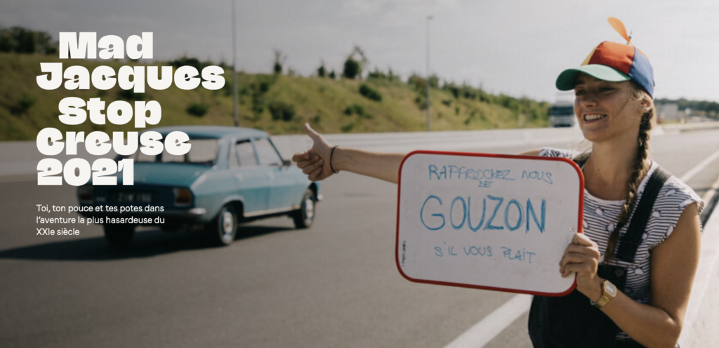 Oriane, étudiante en 2e année à Nantes raconte la Mad Jacques, une course en autostop